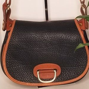 Dooney & Bourke  Vintage Black Horseshoe Bag
